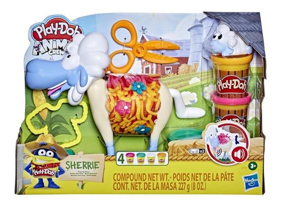 Play Doh Animal Crew Ovelha Sherrie Hasbro
