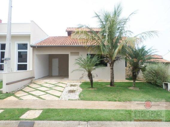 Casa Residencial À Venda, Vivendas Do Parque, Boituva - Ca0240. - Ca0240