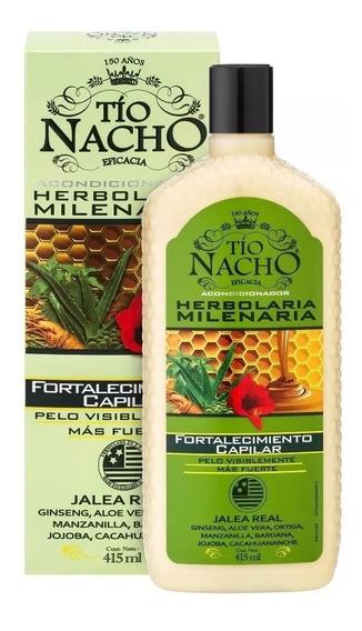 Tío Nacho Acondicionador Herbolaria Milenaria 415ml