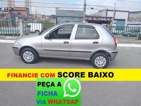 Fiat Palio Financiamento Com Score Baixo Entrada E 48 De 499