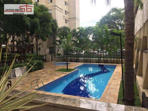 Apartamento Com 3 Dormitórios À Venda, 60 M² Por R$ 345.000,00 - Piqueri - São Paulo/sp - Ap3597