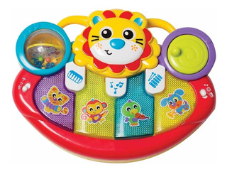 Piano Musical Playgro Juguete Bebé Lion Activity Kick Toy