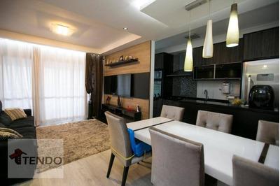 Apartamento 81 M² - 2 Dormitórios - 1 Suíte - Independência - São Bernardo Do Campo/sp - Ap0754