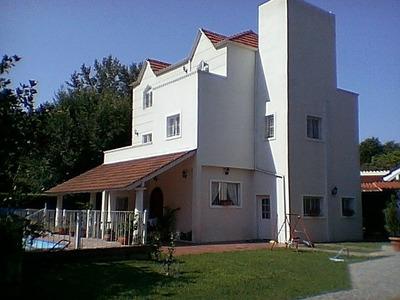 Casa De Categoría En Del Viso. Alquiler Directo Dueño