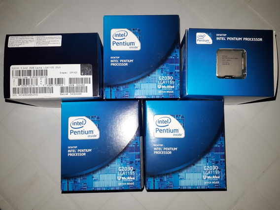 Kit Leve 3 E Pague 2 Proc 1155 Intel G2030 3.0ghz+cooler