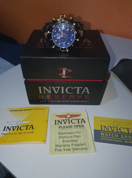 Relógio Invicta Reserve Venom M.1525 Original