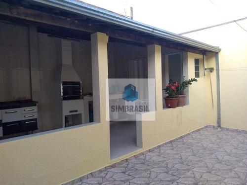 Casa Com 2 Dormitórios À Venda, 120 M² Por R$ 320.000,00 - Jardim Ouro Preto - Campinas/sp - Ca1463