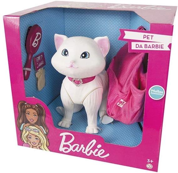 Gatinha Gata Da Barbie Grande Pet Shop Veterinária Petshop