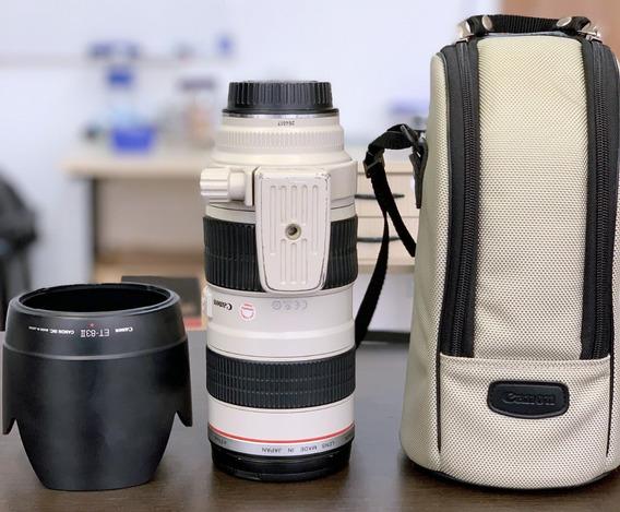 Lente Canon Ef 70-200mm 2.8 L Usm
