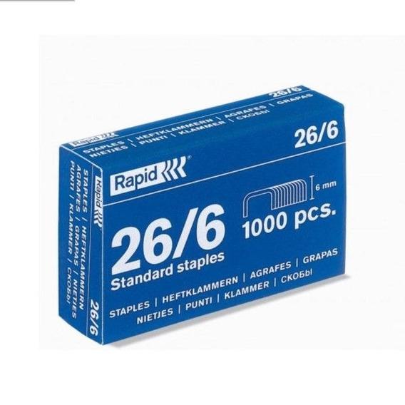 Grampos Rapid 26/6 Cx Com 5000 Grampos