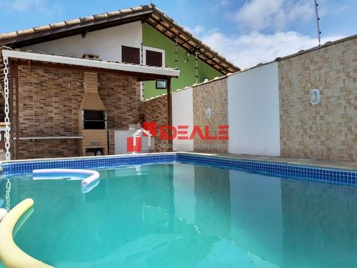 Casa Térrea Com Piscina E Churrasqueira 2 Quartos (1 Suite) - 881