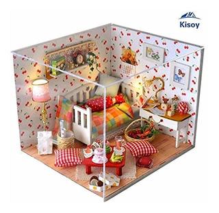 Romántica Y Linda Casa De Muñecas En Miniatura Kit De...