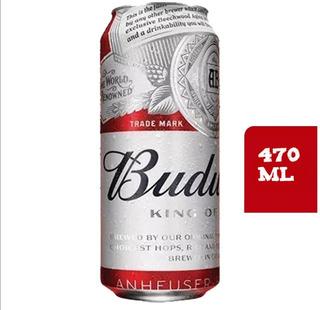 Caja De 24 Cervezas Budweiser 470 Ml