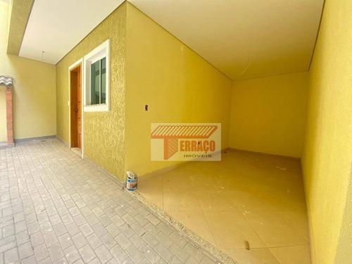 Sobrado Com 2 Dormitórios À Venda, 120 M² Por R$ 399.000 - Vila Príncipe De Gales - Santo André/sp - So1124