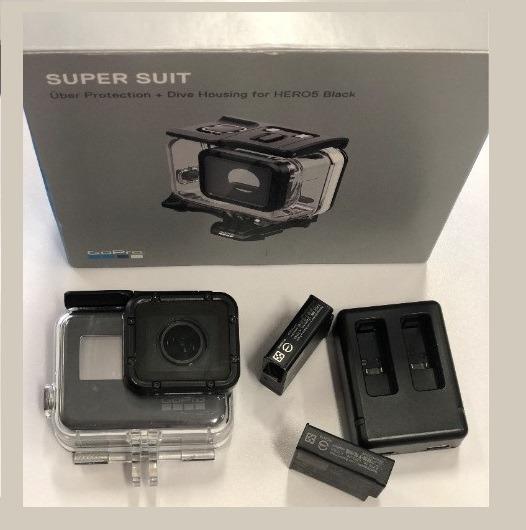 Gopro 5 Black Câmera 4k + 128gb + Caixa Estanque + 2 Bateria