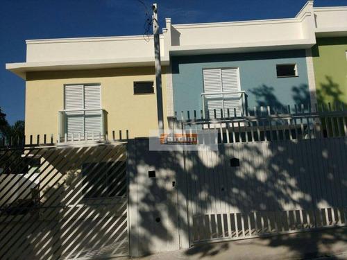 Imagem 1 de 1 de Sobrado Residencial À Venda, Jardim Santo Antônio, Santo André. - So2024
