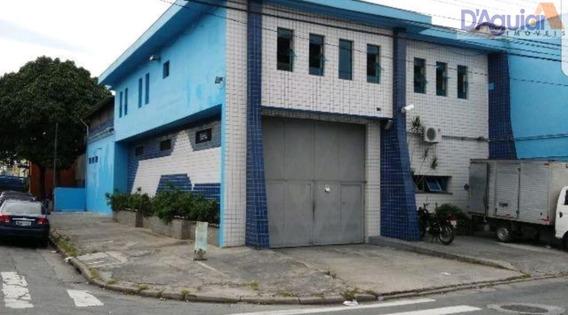 Salão Galpão Na Vila Guilherme 04 Vagas 475m2 - Dg1349