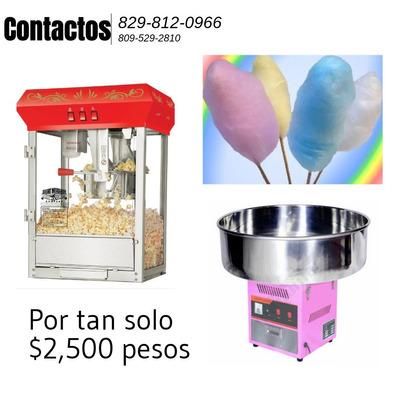 Maquinas De Algodon Y Palomitas