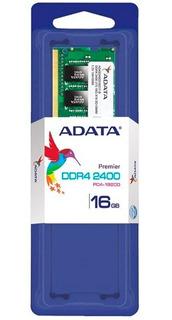 Memoria Ram Ddr4 16gb 2400mhz Adata Laptop Ad4s2400316g17-s