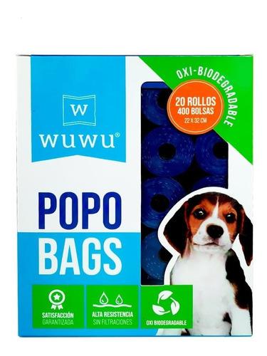 Imagen 1 de 4 de 400 Bolsas Biodegradable Rollos Ecologicas Fecas Perro Oxo