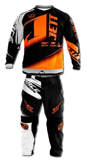 Jersey Jett Factory Edition Naranja Neon G