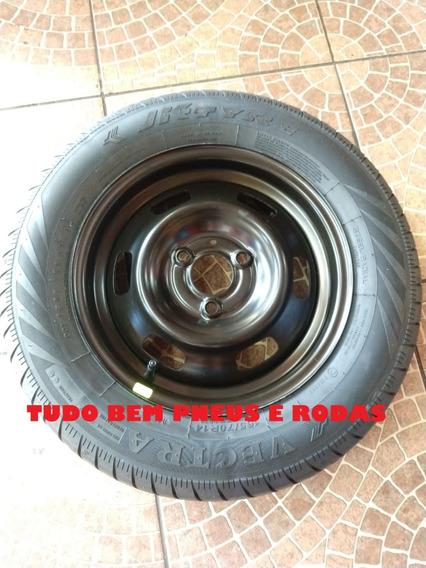 Estepe Roda + Pneu 165/70r14 Renault Kwid Sem Uso Original