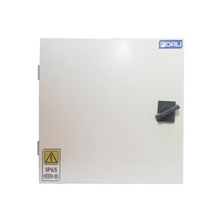 Gabinete Caja Estanco Metalico 48 Bocas Din 40x40x12cm Forli