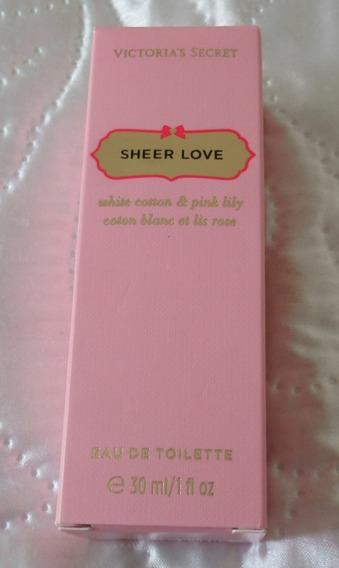 Perfume Sheer Love 30 Ml - Victoria