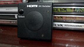 Adaptador Switch 3x1 Divisor 3 Portas Hdmi Para Tv Not