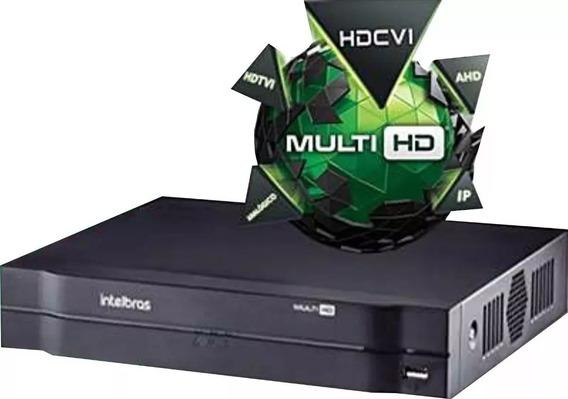 Dvr Intelbras 8ch Mhdx 1108 G3 Multi Hd 720p 5x1 Cloud P2p / Monitoramento Residencial E Comercial