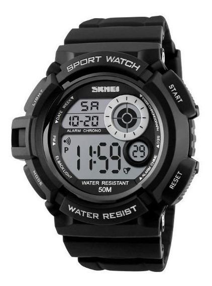 Relógio Masculino Skmei Digital 1222 Preto