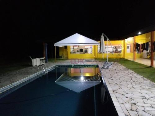 Imagem 1 de 30 de Chácara Com 5 Dormitórios À Venda, 618169 M² Por R$ 2.160.000,00 - Bom Jesus - Jacareí/sp - Ch0405
