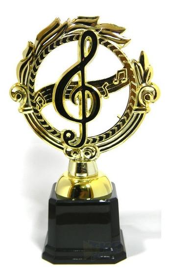 Trofeu 600143 Galera Musica 21cm Gravacao Gratis