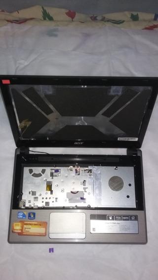 Carcaça Notebook Acer 4745-5849 Incompleta C/ Hdmi - Usada