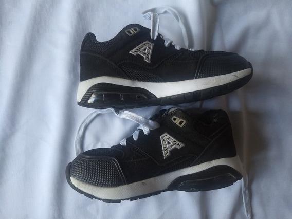 Zapatillas Addnice Negras Talle 28 Usadas Impecables!!