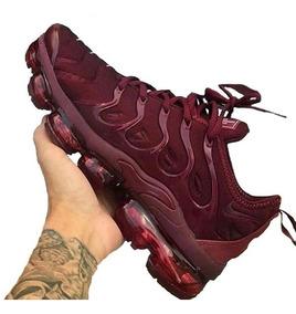 Tênis Nike Vapormax Plus Original Vinho
