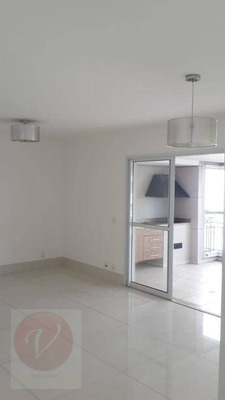 Apartamento Com 3 Dormitórios Para Alugar, 166 M² Por R$ 4.500/mês - Bairro Jardim - Santo André/sp - Ap8681