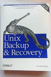 Libro Unix Backup & Recovery