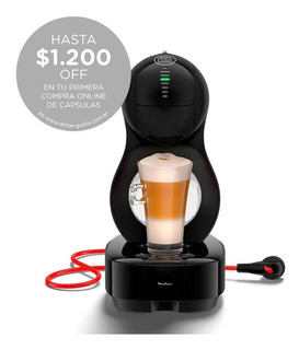 Cafetera Moulinex Dolce Gusto Lumio