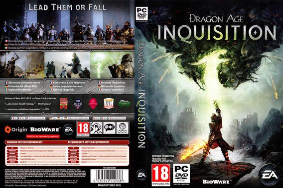 Dragon Age Inquisition Pc (mídia Física)