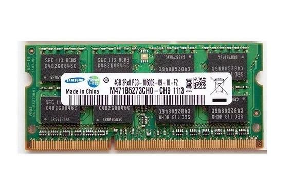 Memoria 4gb Ddr3 Sodimm 1333mhz Samsung 1.35v Nuevas Envio