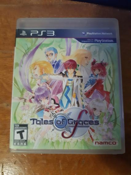 Tales Of Graces F Ps3 Original Com Manual Em Bom Estado