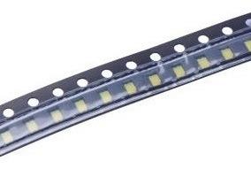 50 X Verde 0805 SMD LED 500mcd 120 °