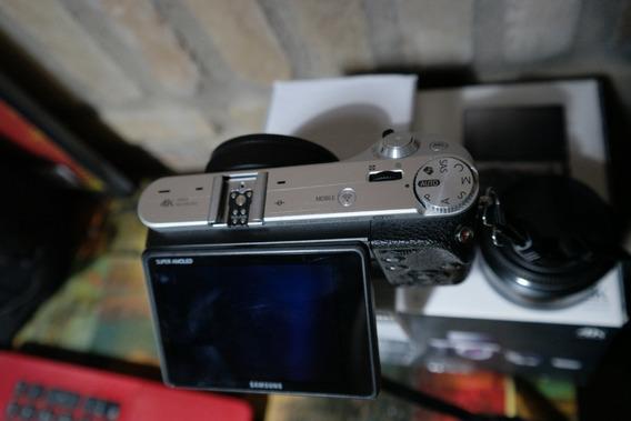 Samsung Nx500 Com Lente 18-55 Ios 4k + Acessórios