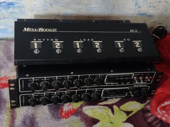 Mesa Boogie Quad Preamp (100% Valvulado) -trocas- Willaudio