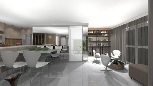 Imagem 1 de 9 de Apartamento Com 2 Dormitórios À Venda, 113 M² Por R$ 1.400.000,00 - Moema - São Paulo/sp - Ap5597