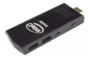 Mini Pc Intel Stick Windows 10 2gb 32gb + Teclado Touch Pad