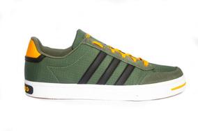 Tenis adidas F 38078 Verde Militar Urbano Para Caballero