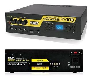 Amplificador Skp Publicidad Movil Y Musica Funcional Usb Mp3