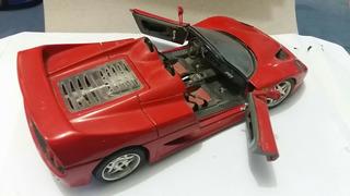 Ferrari F50 Vermelha (1995) - Burago - Escala: 1/18
